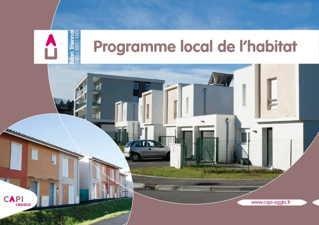 Programme local de l'habitat 2010-2011-2012