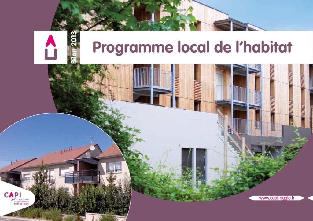 Programme local de l'habitat 2013