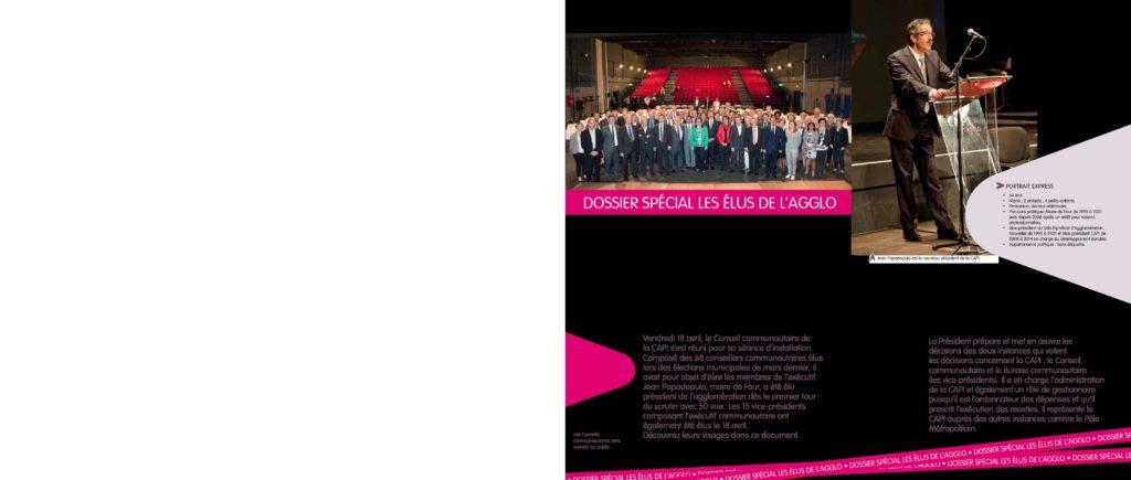 Magazine ICI L'AGGLO N°20 trombinoscope