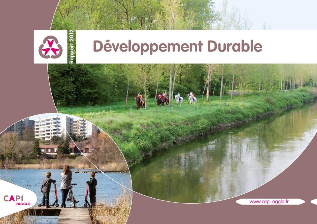 Rapport développement durable 2012