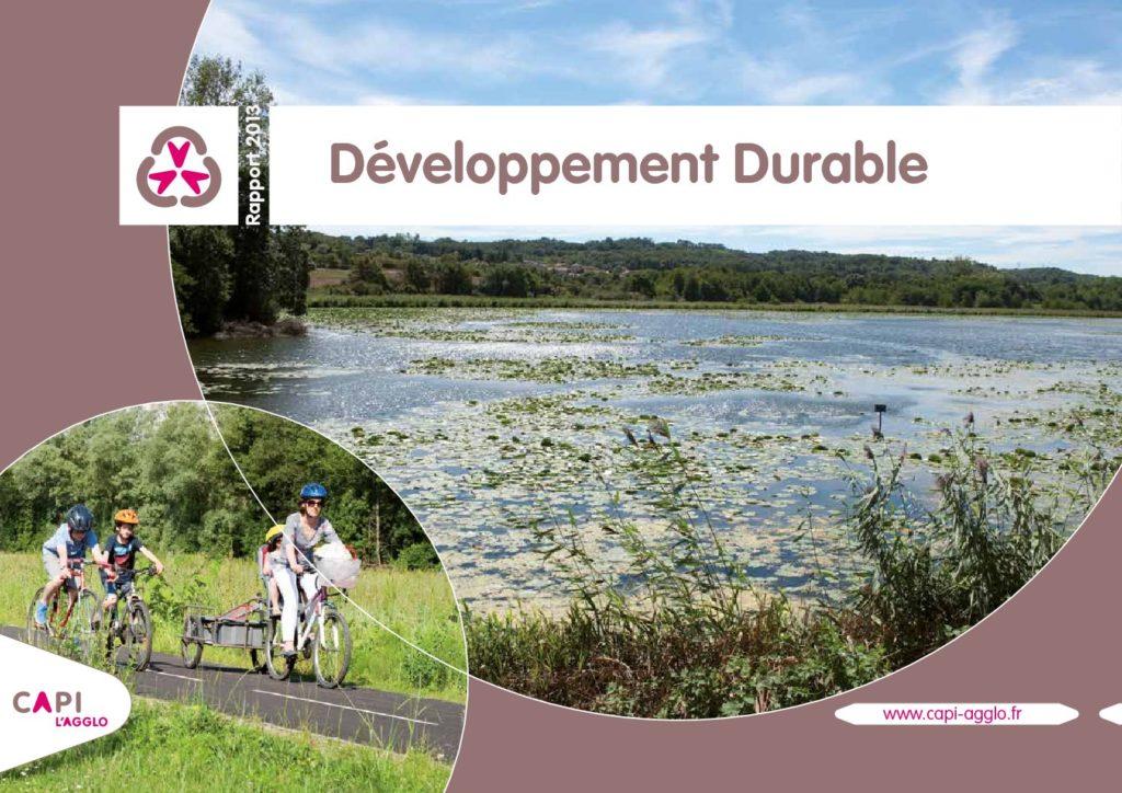 Rapport développement durable 2013