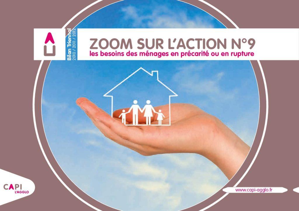ZOOM SUR L'ACTION N°9 2010-2011-2012