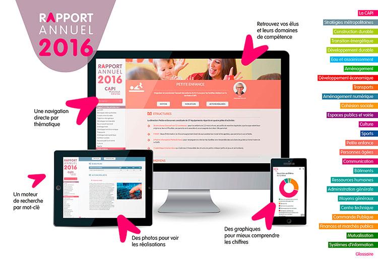 Rapport annuel CAPI 2016