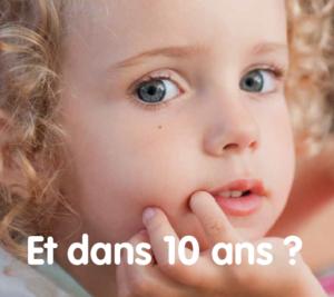 Portrait d'enfant et dans 10 ans ?