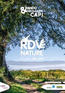 Couverture de l'agenda Nature de la CAPI les RDV Nature